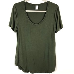 Old Navy Short Sleeve Luxe Scoop Neck About Thyme